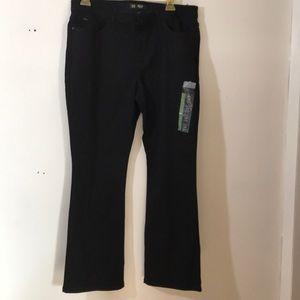 Lee 16P Bootcut Mid Rise Flex Motion Black Jeans